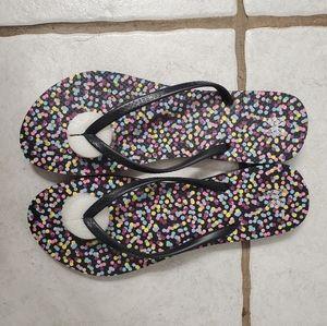 Victoria Secret Polka Dot Flip Flop